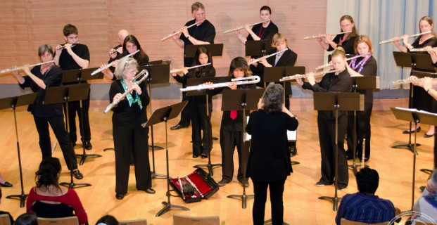 Bel Canto Flutes performs at Noe Valley Library
